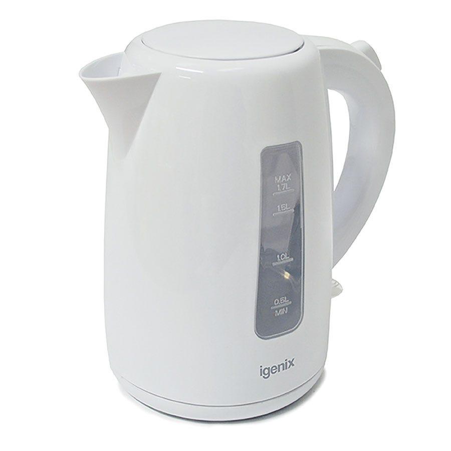 Igenix IG7105 1.7L 3000W Jug Kettle - White