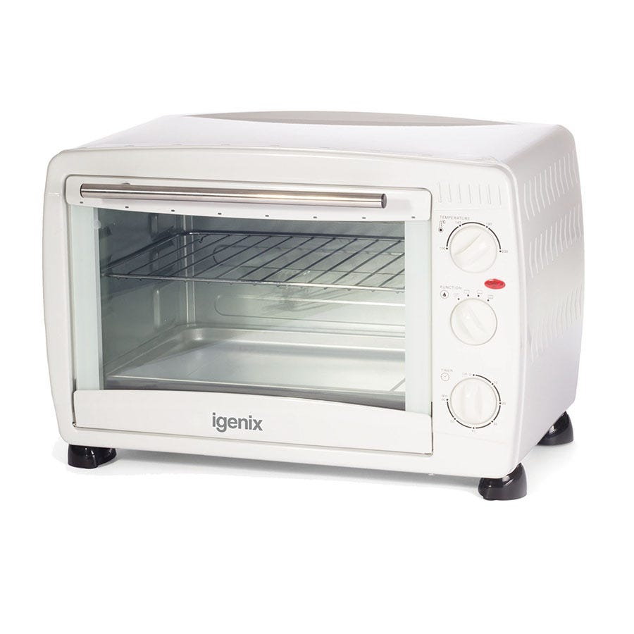 2000 Igenix 26L White Mini Oven