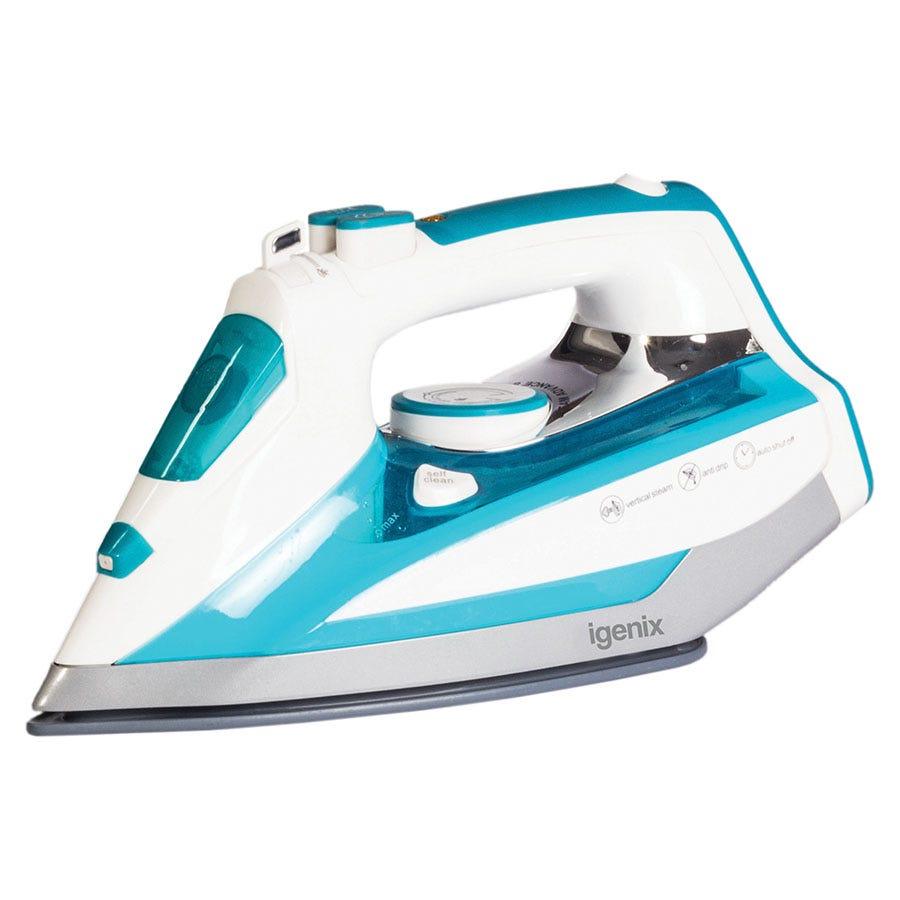 Igenix IG3125 2500W Steam Iron - White/Blue