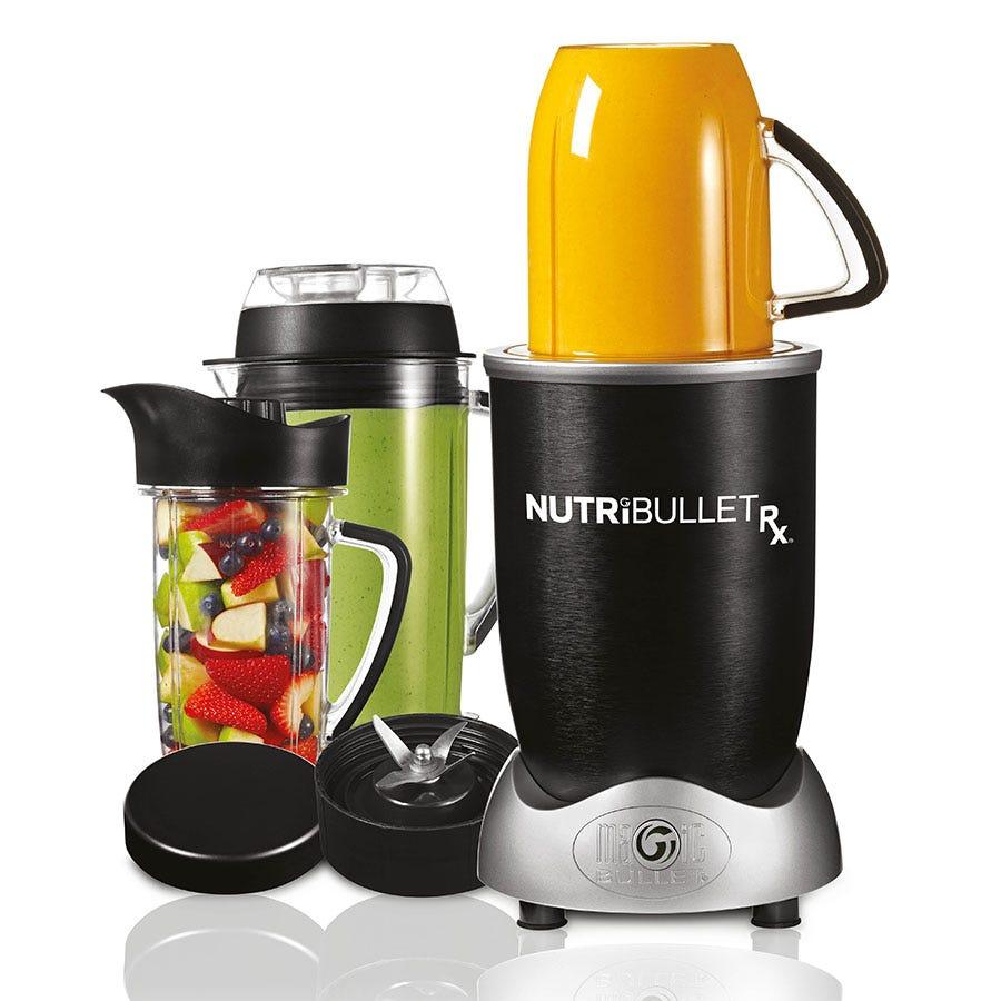 NutriBullet RX NBLRX Blender and Soup Maker - Black