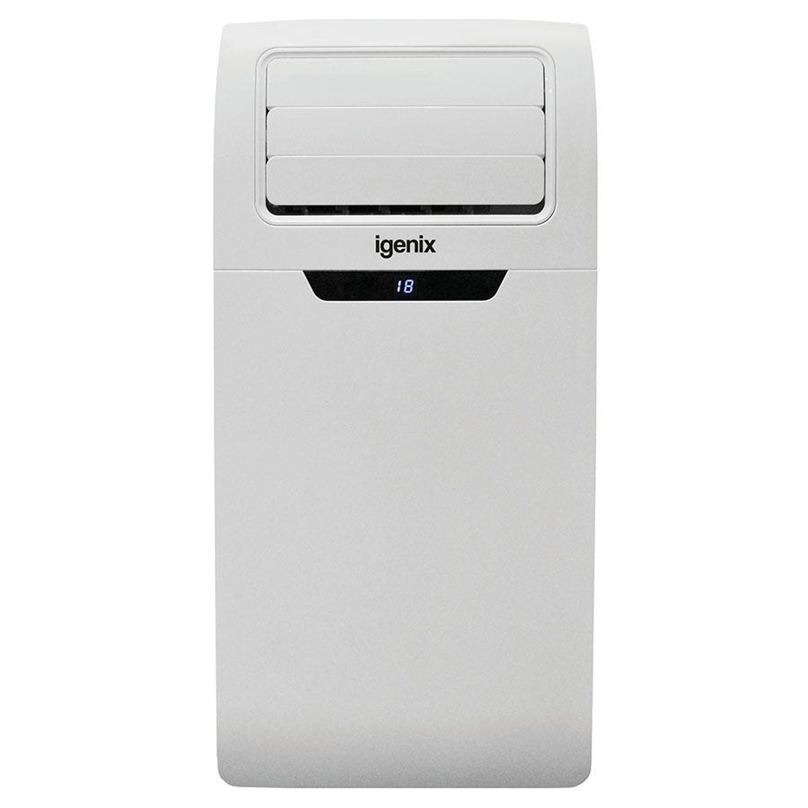 Igenix IG9901 3-in-1 9000BTU White Portable Air Conditioner