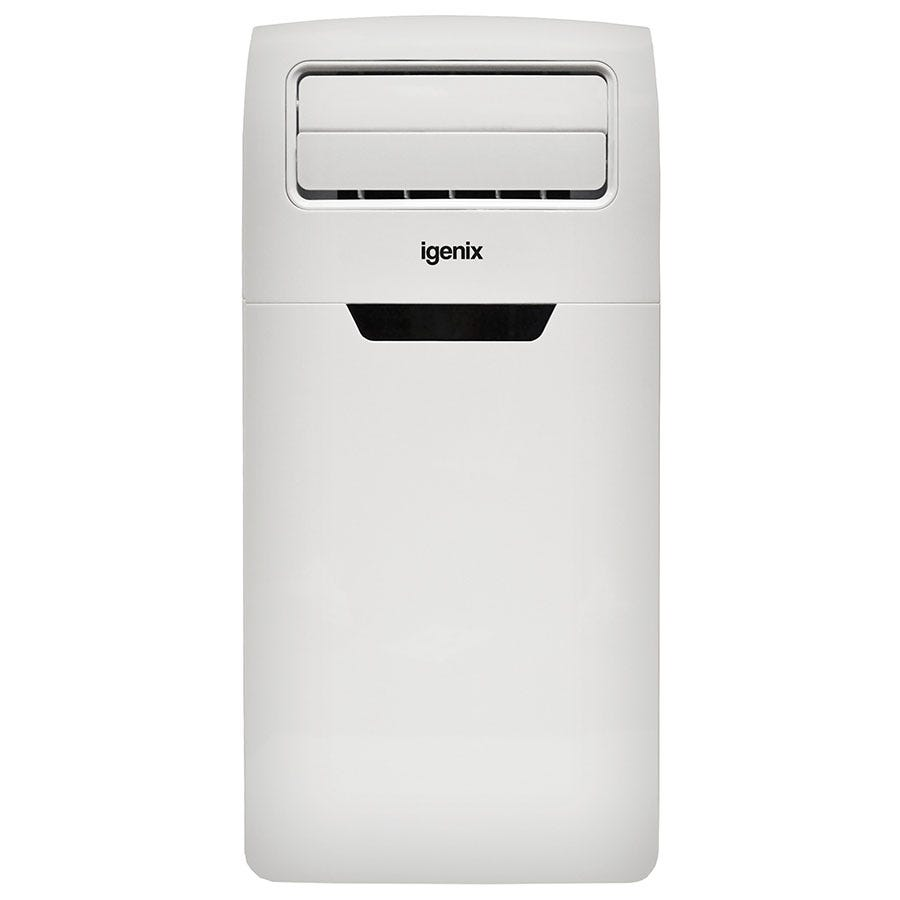 Igenix IG9906 12000BTU 4-in-1 Cooler, Heater, Fan and Dehumidifier Portable Air Conditioner - White