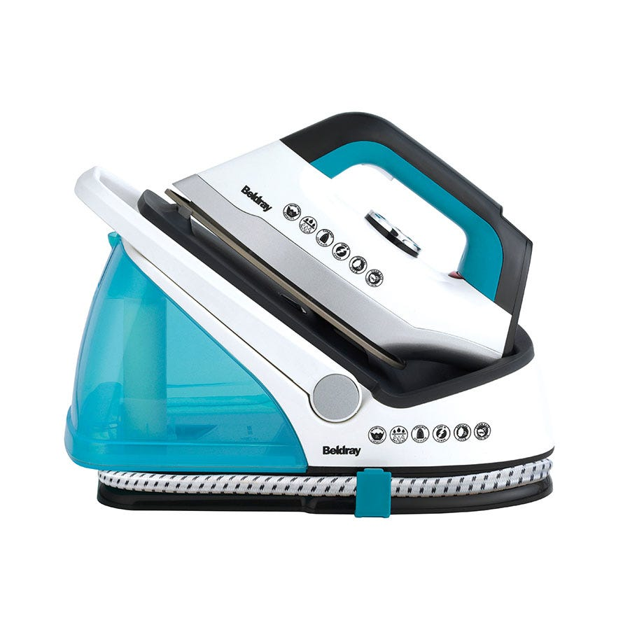 Beldray BEL0434V2 2L Steam Surge Pro Steam Generator Iron Station - Turquoise/White