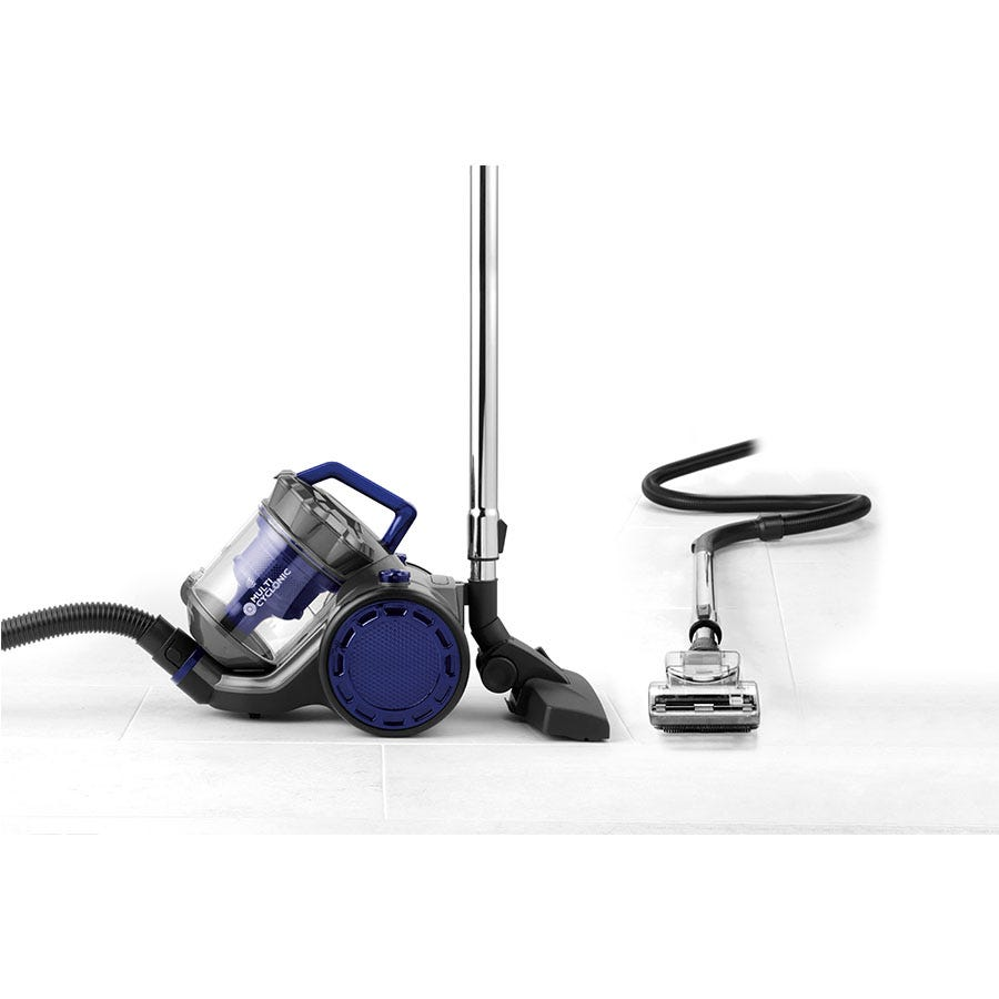 Beldray BEL0812 Multi Cyclonic Pet+ 2.5L Vacuum Cleaner - Grey/Blue