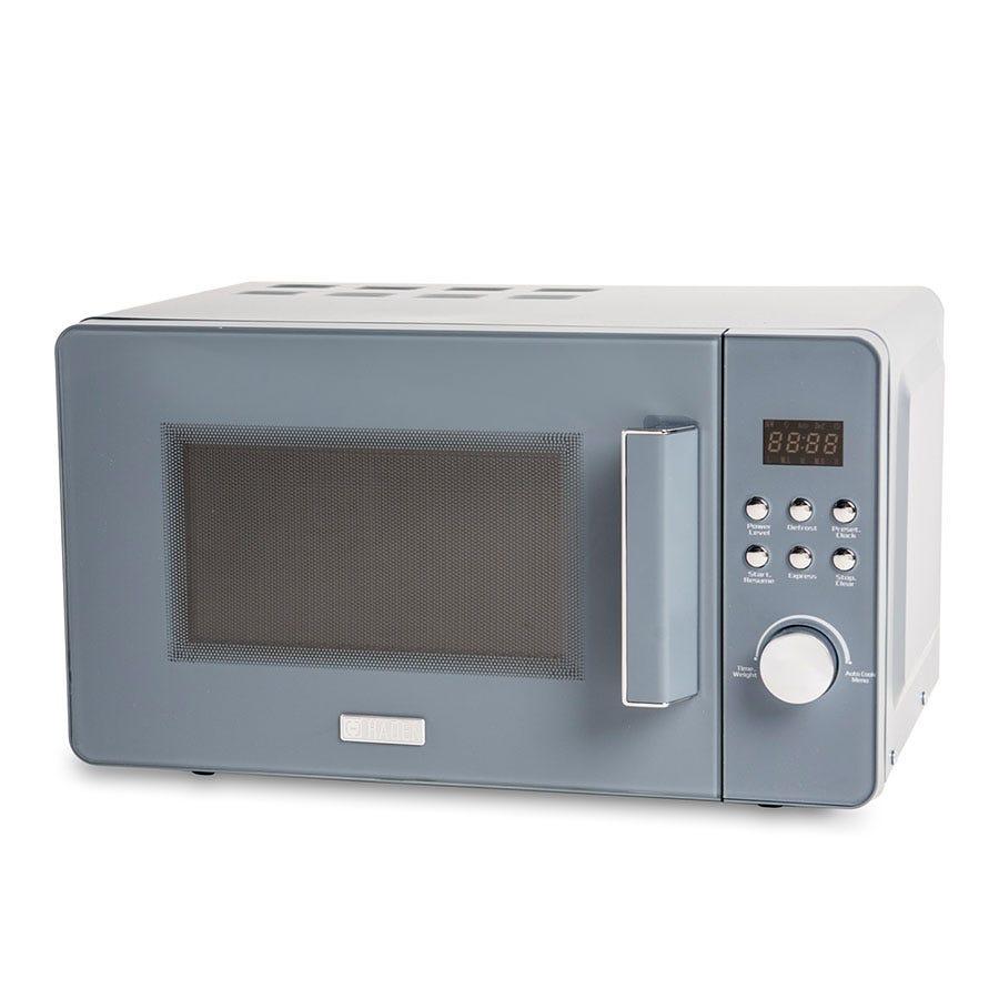Haden 186690 Perth Sleek 800W 20L Manual Microwave - Slate Grey