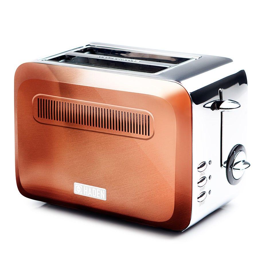 Haden 189738 Boston 980W 2-Slice Toaster - Copper