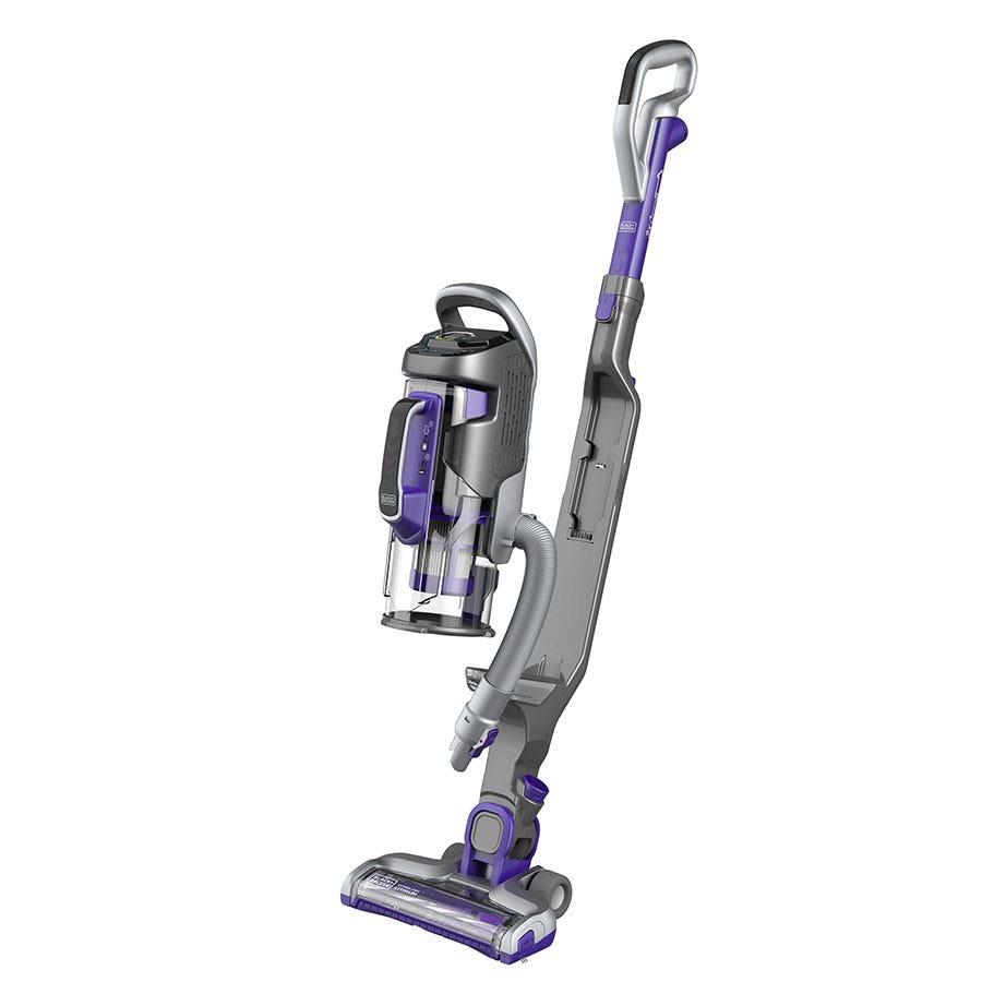 Black & Decker Black+Decker CUA525BHP-GB 2-in-1 Cordless Multi Power Pet Vacuum Cleaner - Grey/Purple