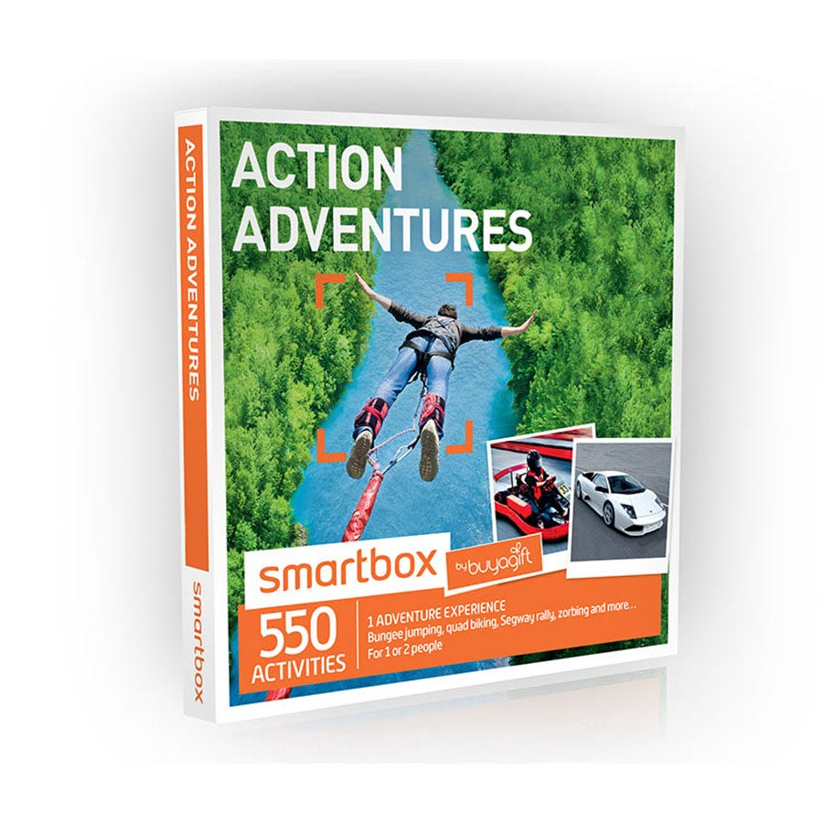 Buyagift Smartbox Action Adventures Experience