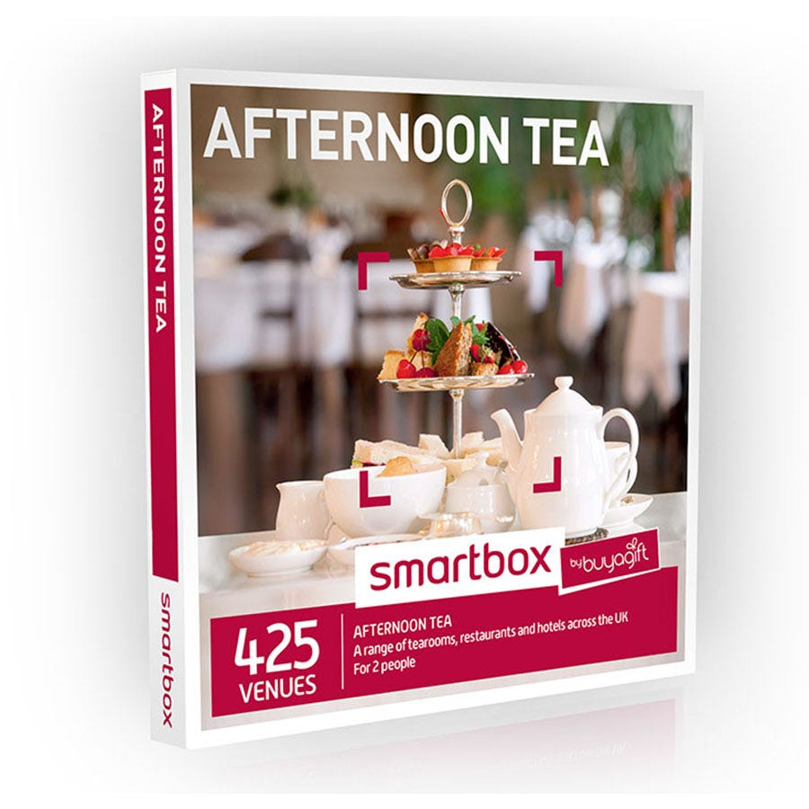 Buyagift Smartbox Afternoon Tea Experience