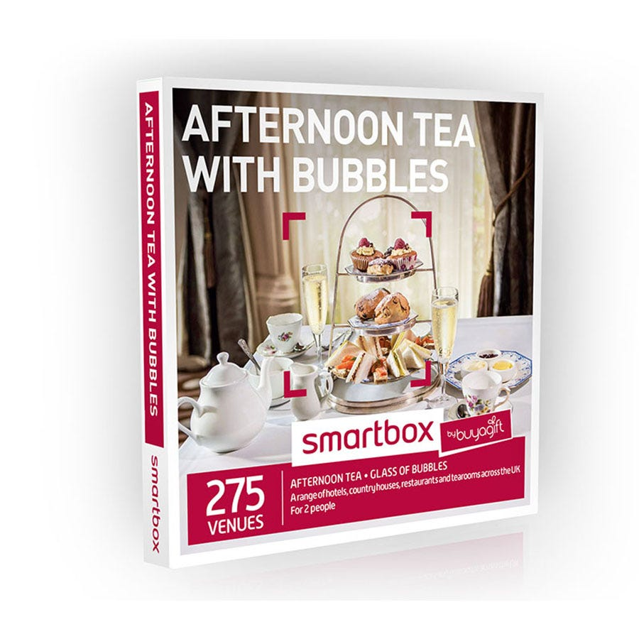 Buyagift Smartbox Afternoon Tea with Bubbles Experience