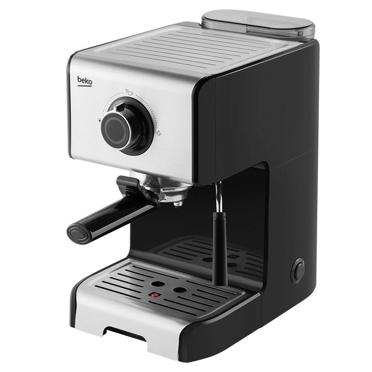 Image of Beko Espresso Coffee Machine - Black