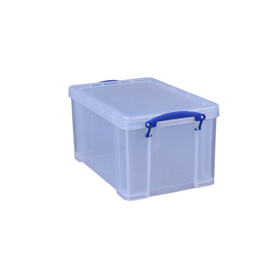Image of Really Useful 14L Storage Box - Clear