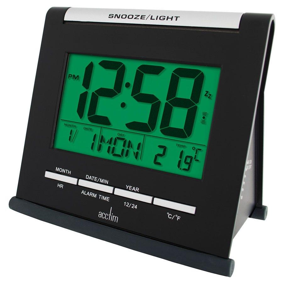 Acctim Apex Smartlite Multifunction LCD Alarm Clock