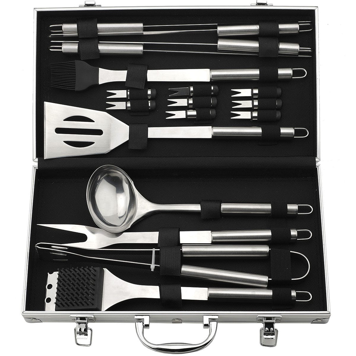 Image of Flamemaster 18-Piece Barbeque Set