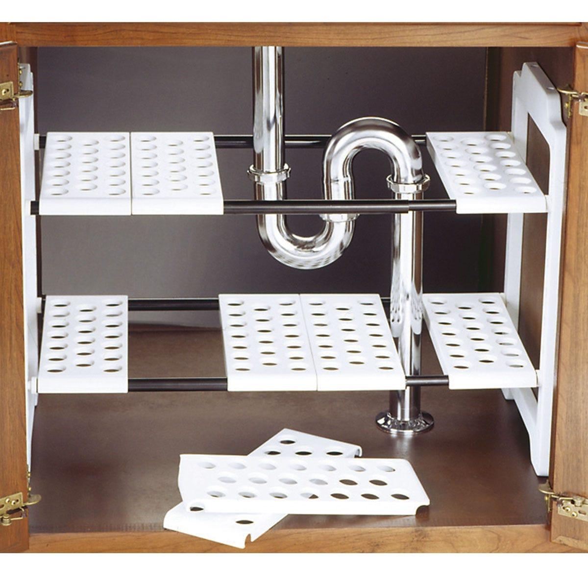 Image of Addis Under Sink Storage Unit - White
