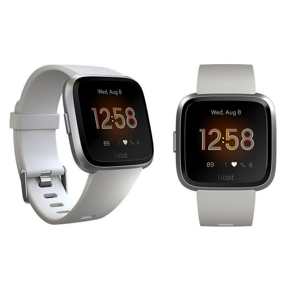 Fitbit Versa Lite - White & Aluminum