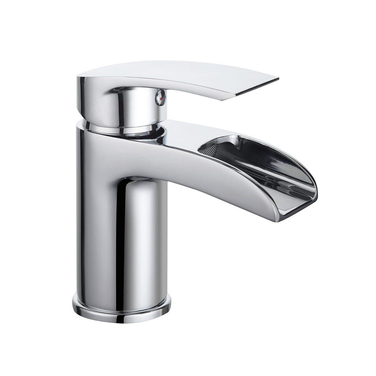 Bristan Glide Waterfall Basin Mixer - Chrome