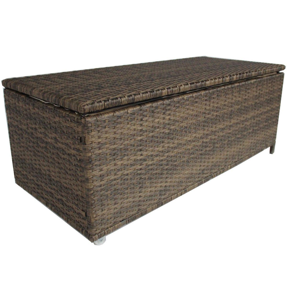 Charles Bentley Rattan Storage Box - Natural
