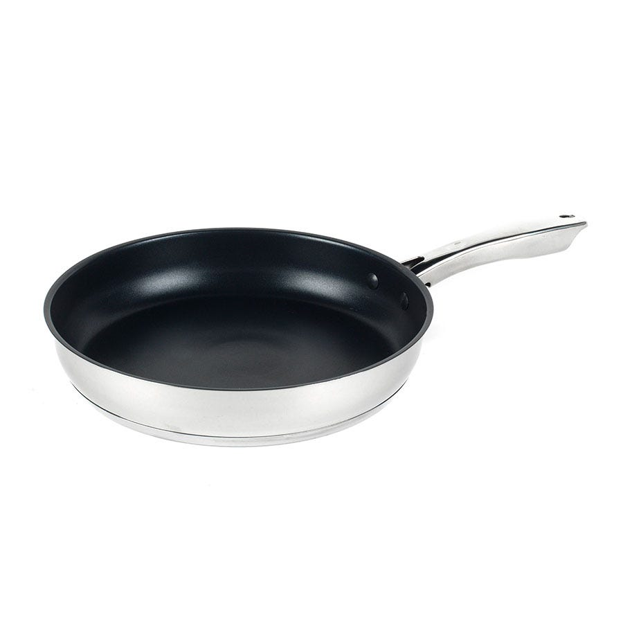 Russell Hobbs 28cm Optimum Collection Frying Pan - Stainless Steel
