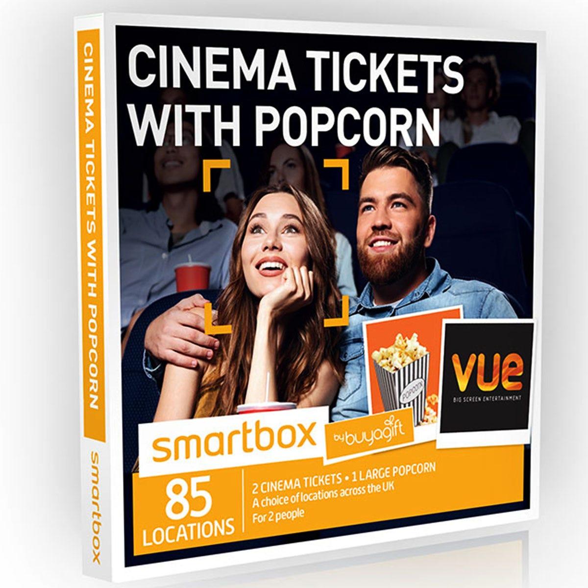 Buyagift Cinema Tickets with Popcorn