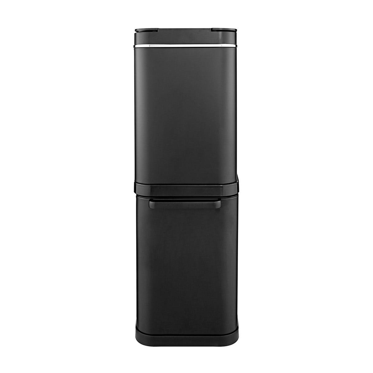 Tower 50L Dual Recycling Bin - Black