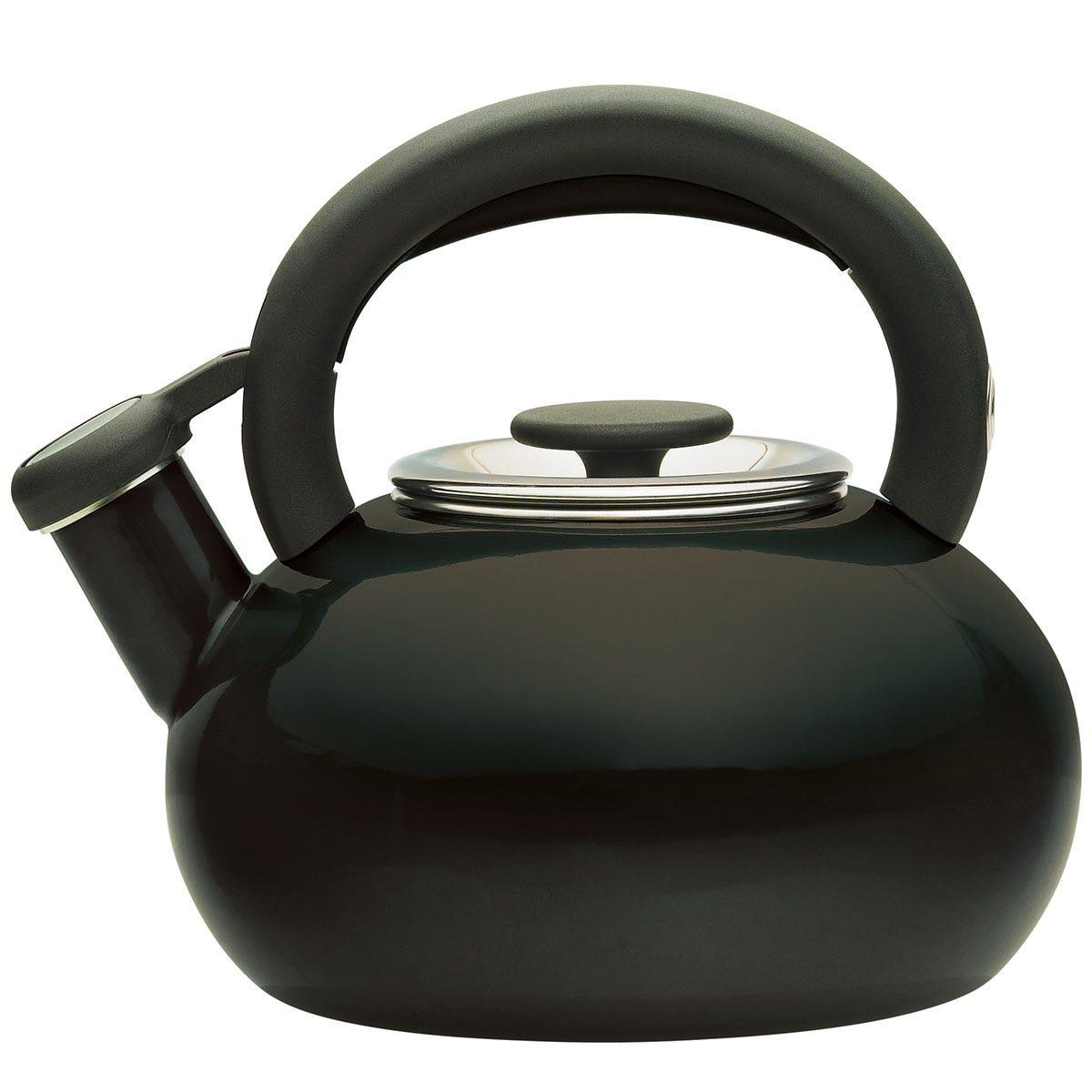 Prestige Black Stove Top Kettle - 1.4L