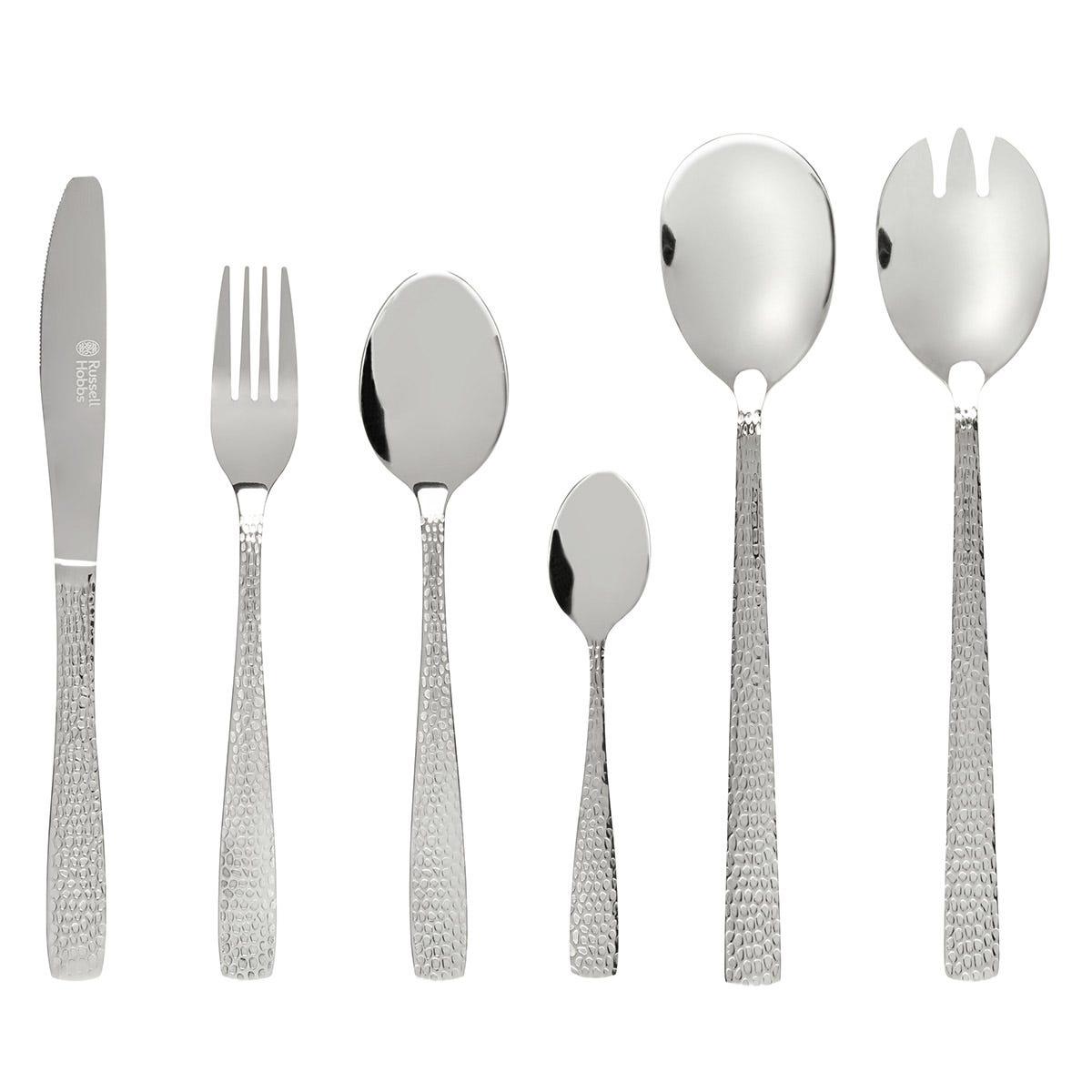 Russell Hobbs 18-Piece Kensington Cutlery Set - Stainless Steel