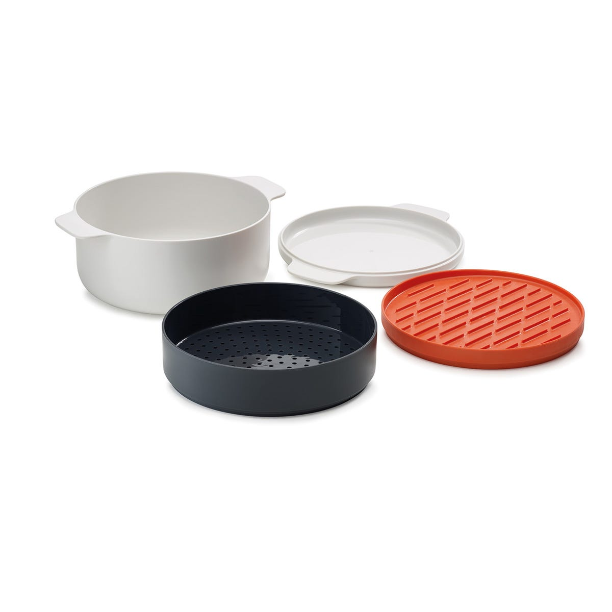 Joseph Joseph M-Cuisine Microwave 4-Piece Stackable Cooking Set