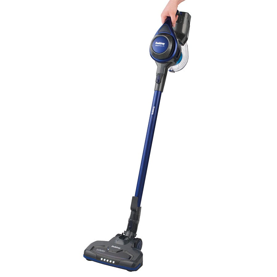 Image of Beldray 1.2L Airgility MAX Cordless 2-in-1 Multi-Surface Vacuum Cleaner - Blue