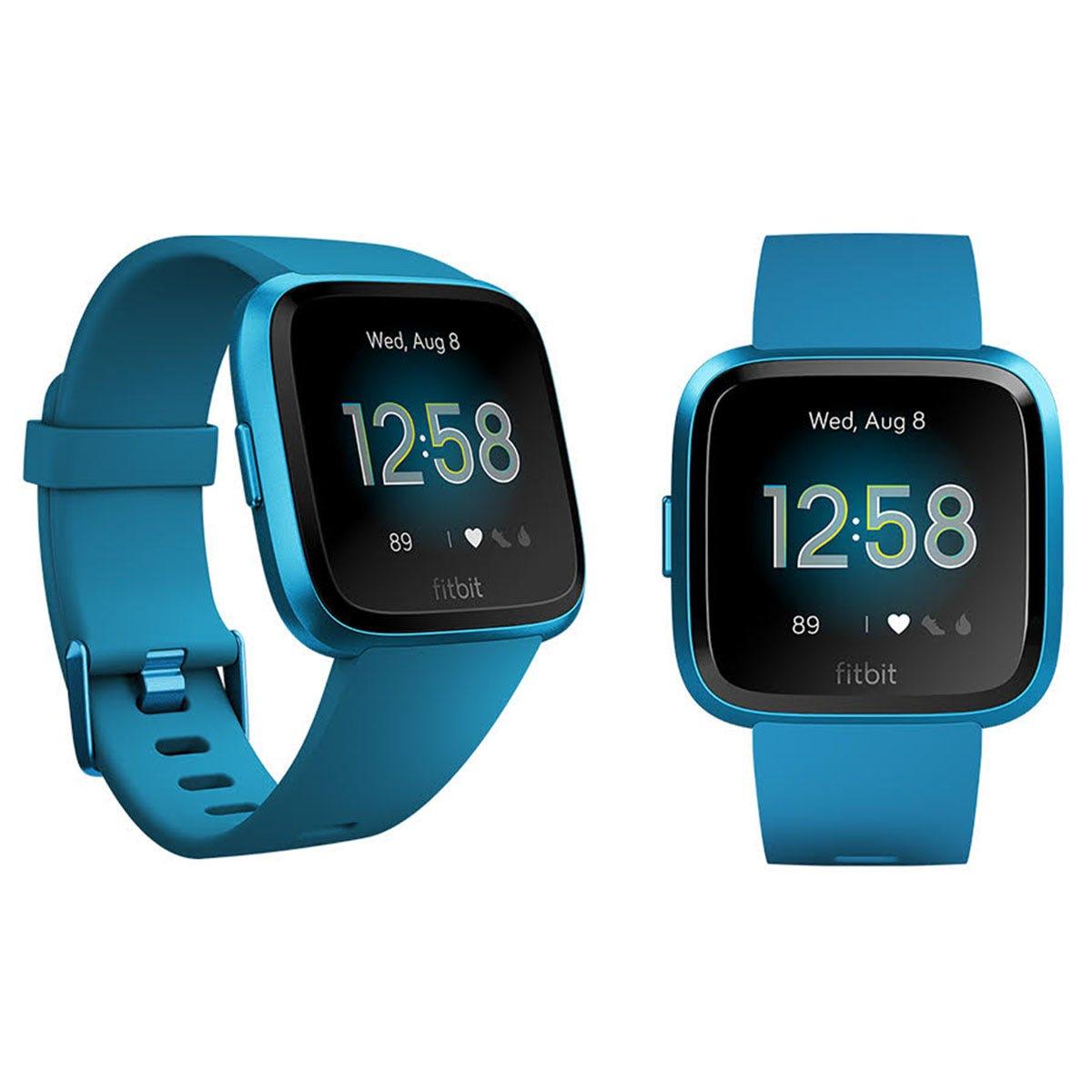 Fitbit Versa Lite - Blue & Aluminum