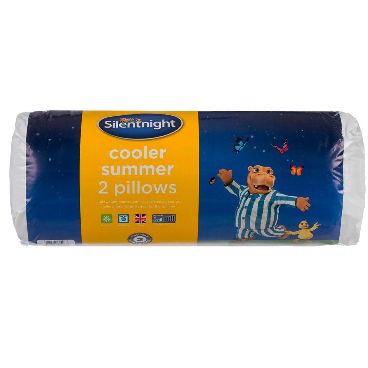 Silentnight Cooler Summer Pillow Pair