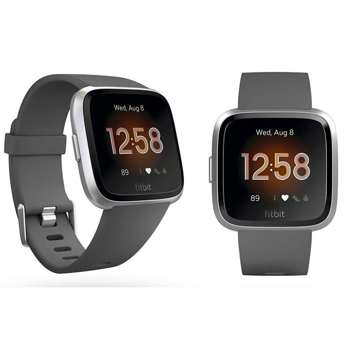 Fitbit Versa Lite - Charcoal & Aluminum