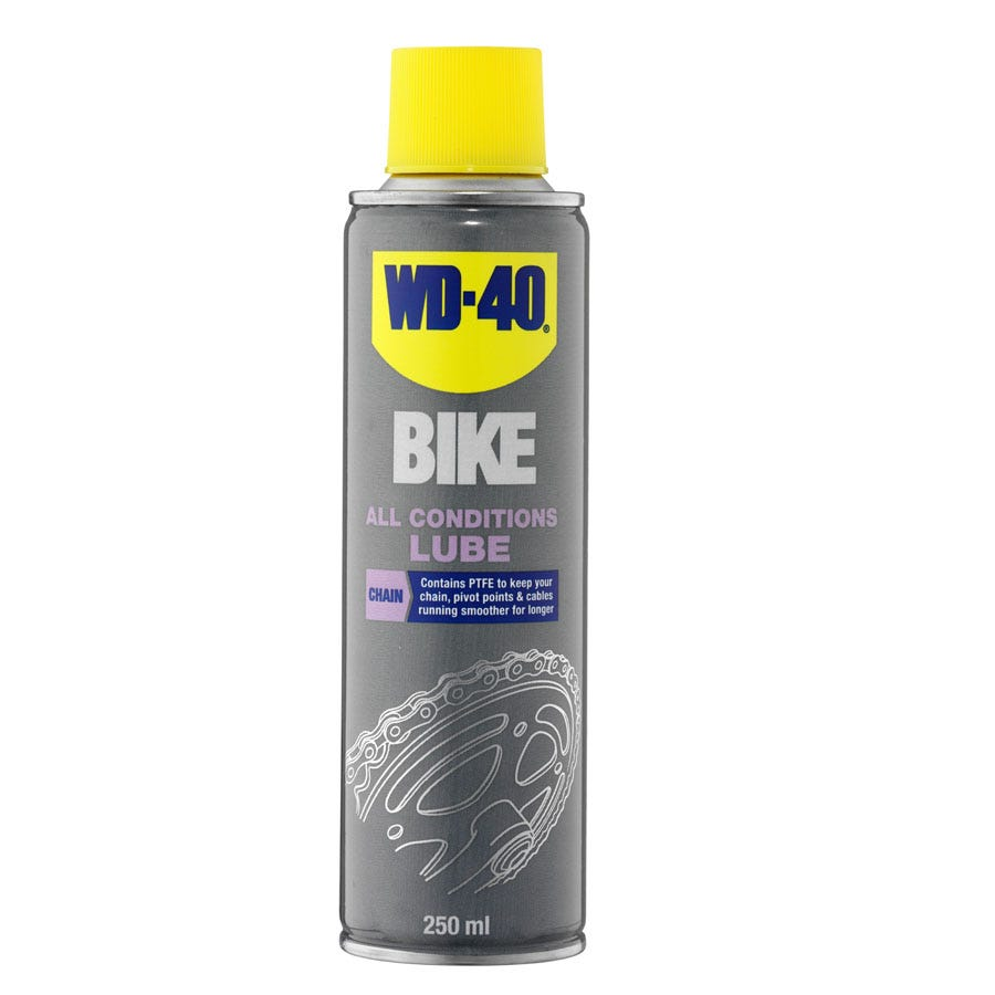 WD-40 All-Conditions Bike Lube - 250ml