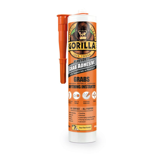 Compare prices for Gorilla Grab Adhesive 290ml Cartridge