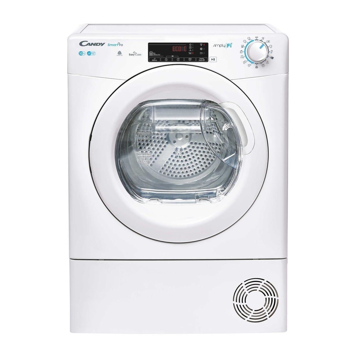 Candy CSO C10TE Smart Pro 10kg Condenser Tumble Dryer with EasyCase - White