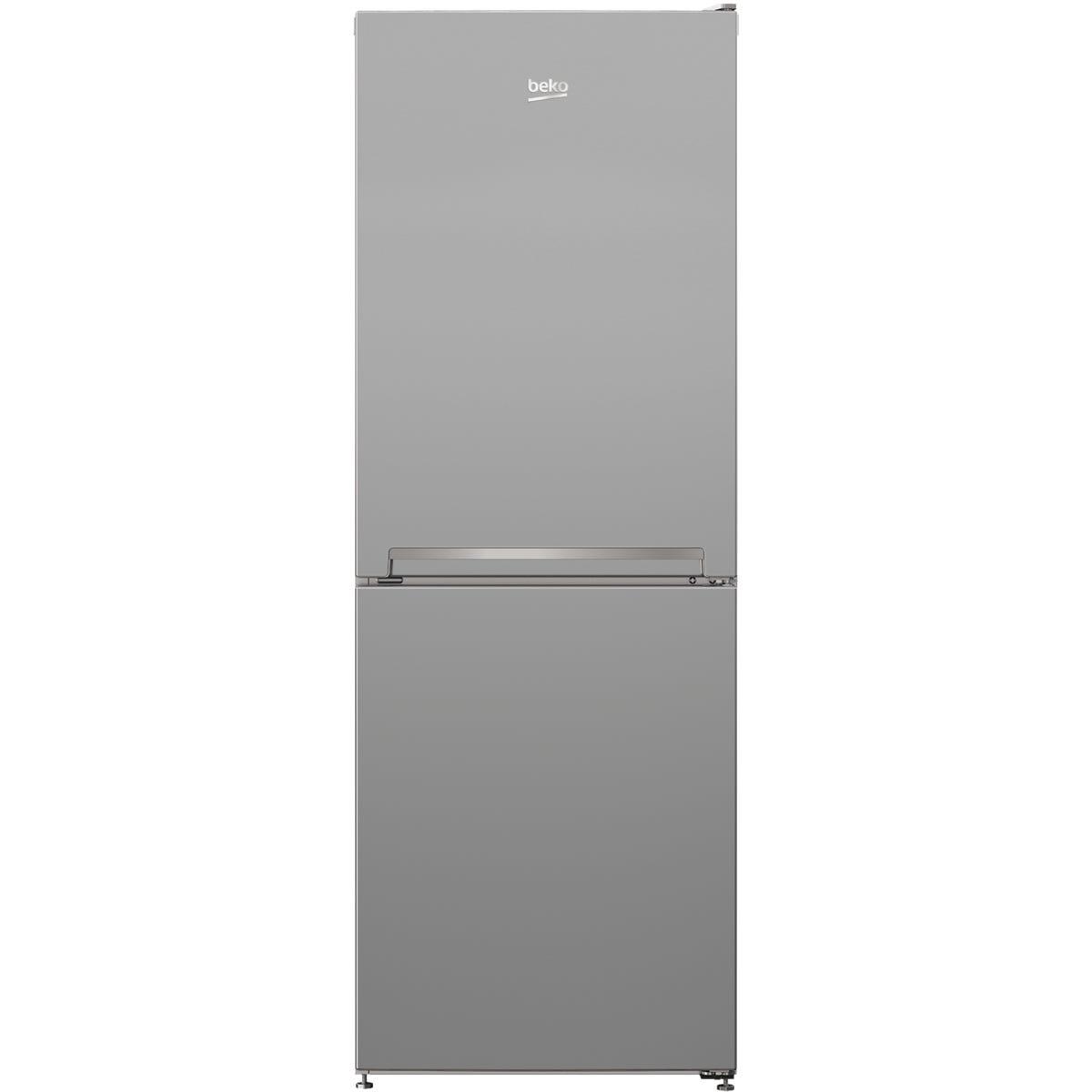 Beko CFG3552S 213L Frost Free Combi Fridge Freezer - Silver