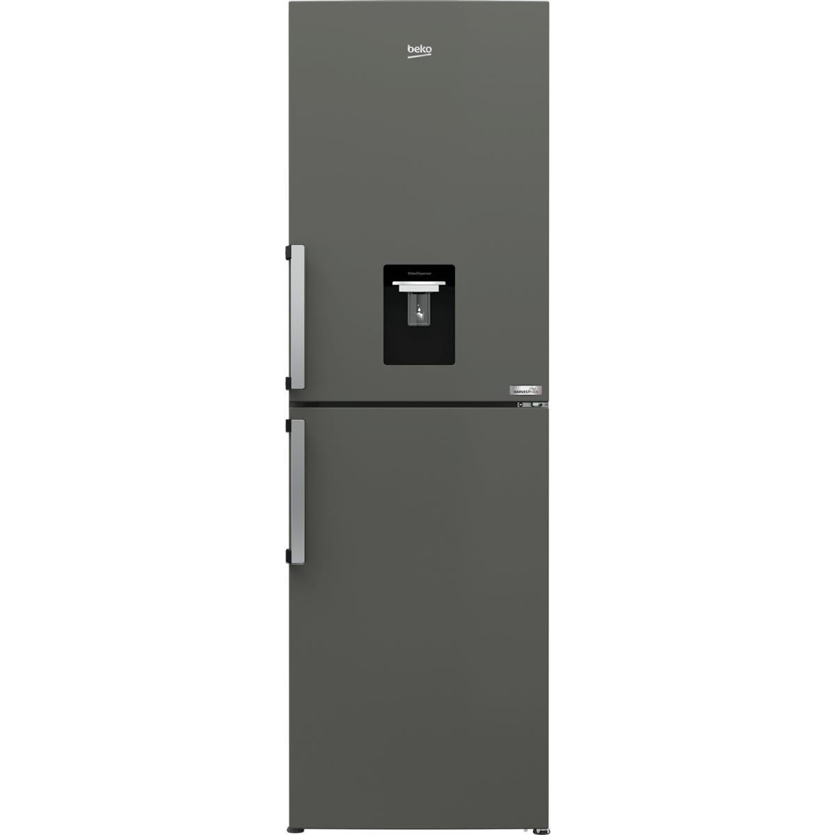 Beko CFP3691DVG 324L Frost Free Combi Fridge Freezer - Graphite