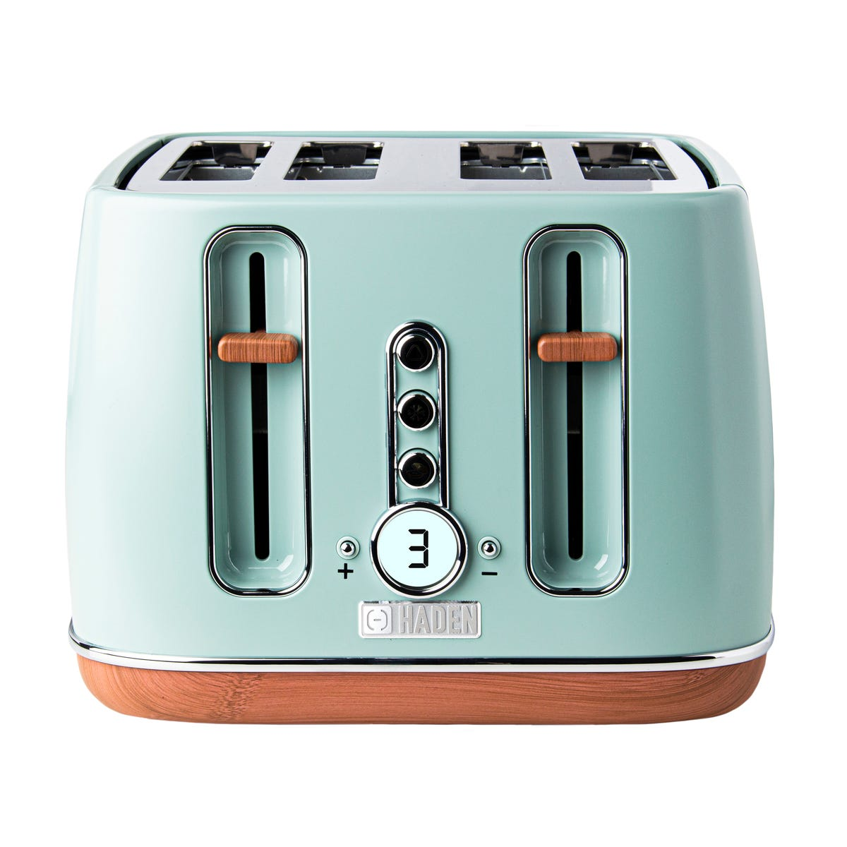 Haden Dorchester 2300W 4 Slice Wide Slot Toaster - Sage Green