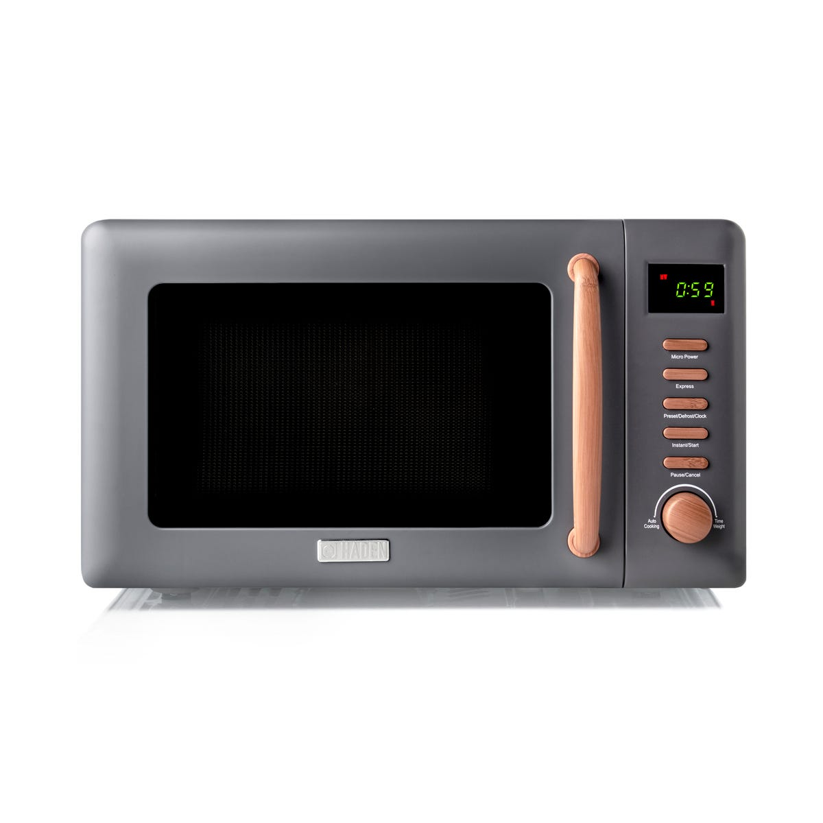 Haden 201324 Dorchester 20L 800W Microwave - Pebble Grey