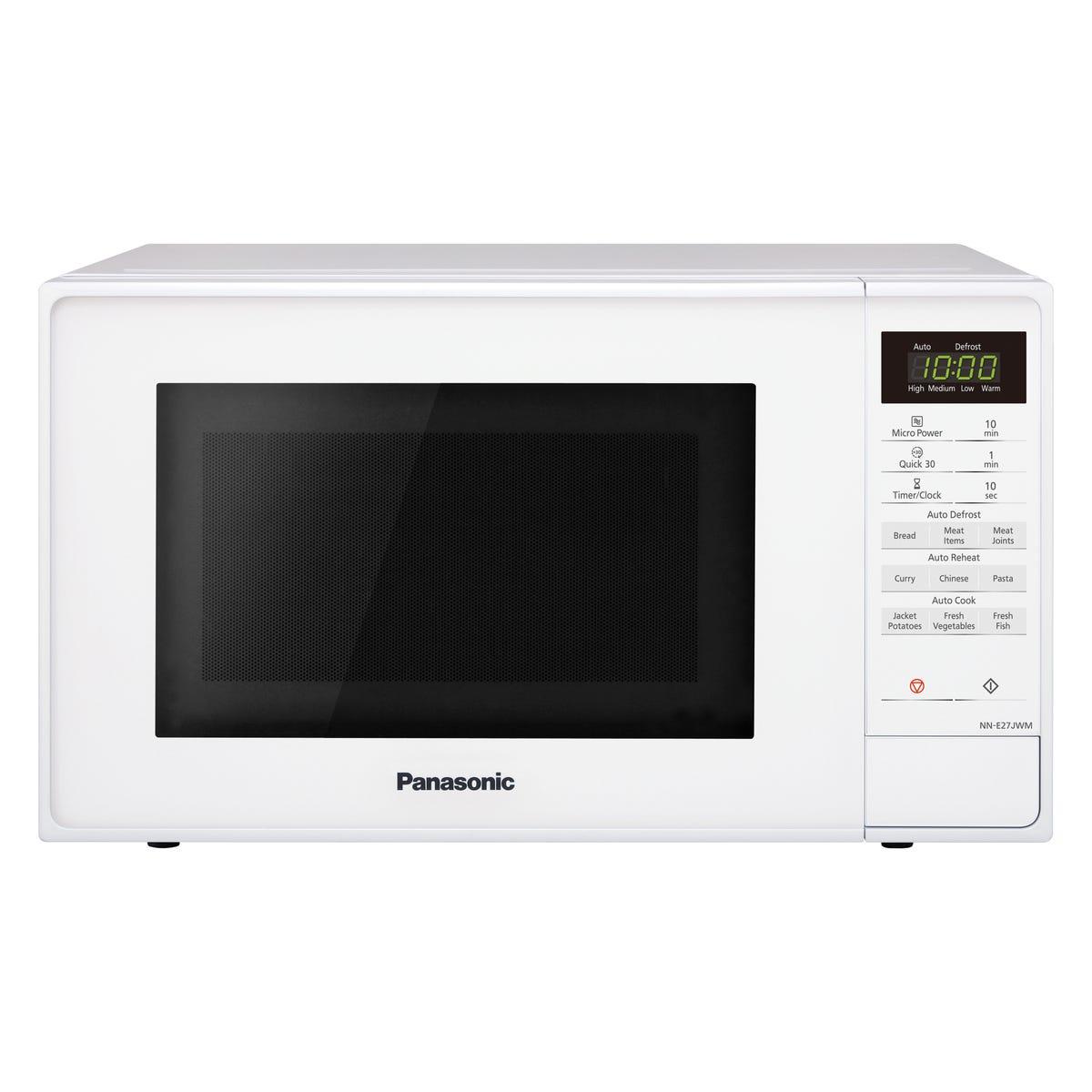 Panasonic NN-E27JWMBPQ 20L 800W Touch Control Solo Microwave - White