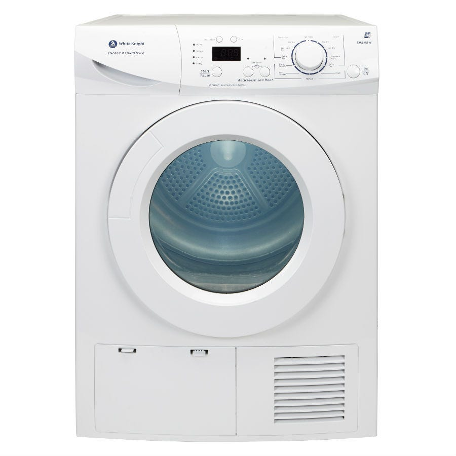 Compare prices for White Knight 8kg Multifunction Condensing Tumble Dryer