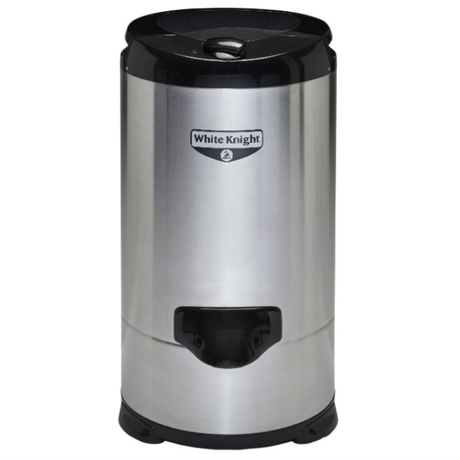 Compare prices for White Knight 28009S Gravity Drain Spin Dryer - Stainless Steel