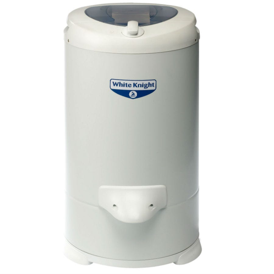 Compare prices for White Knight 28009W Gravity Drain Spin Dryer - White
