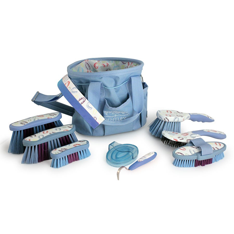 Compare cheap offers & prices of Charles Bentley Equestrian Patterns 10 Pc Horse Grooming Set manufactured by Charles Bentley