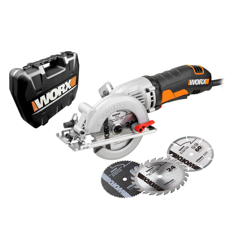 Compare prices for Worx Worxsaw 400W 120mm Compact Circular Saw