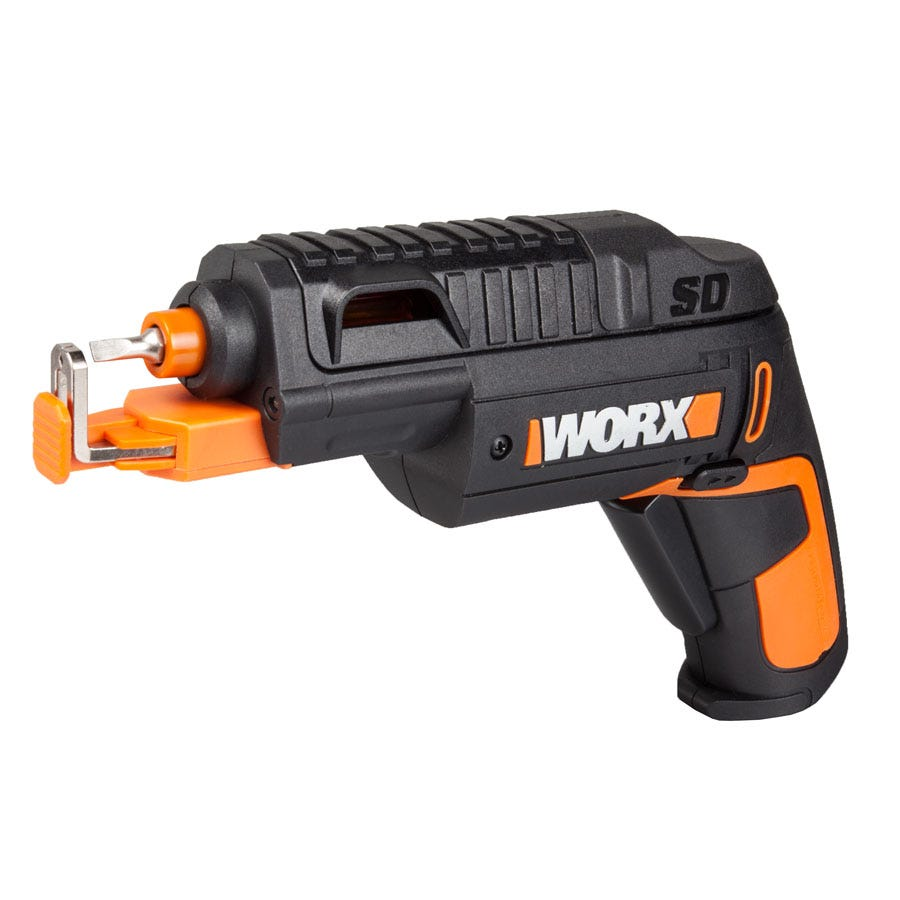 Compare prices for Worx Slide 4V Max Li-Ion Cordless Screwdriver with Screw Holder