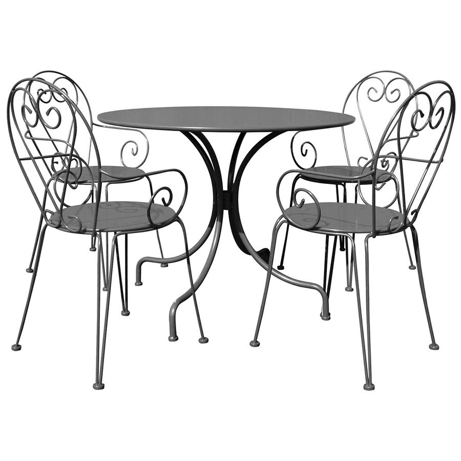 Compare cheap offers & prices of Charles Bentley Steel Heart 5 Piece Shabby Chic Set manufactured by Charles Bentley