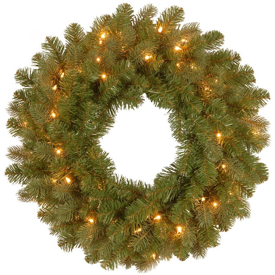 Compare prices for National Tree Company Bayberry Spruce Wreath