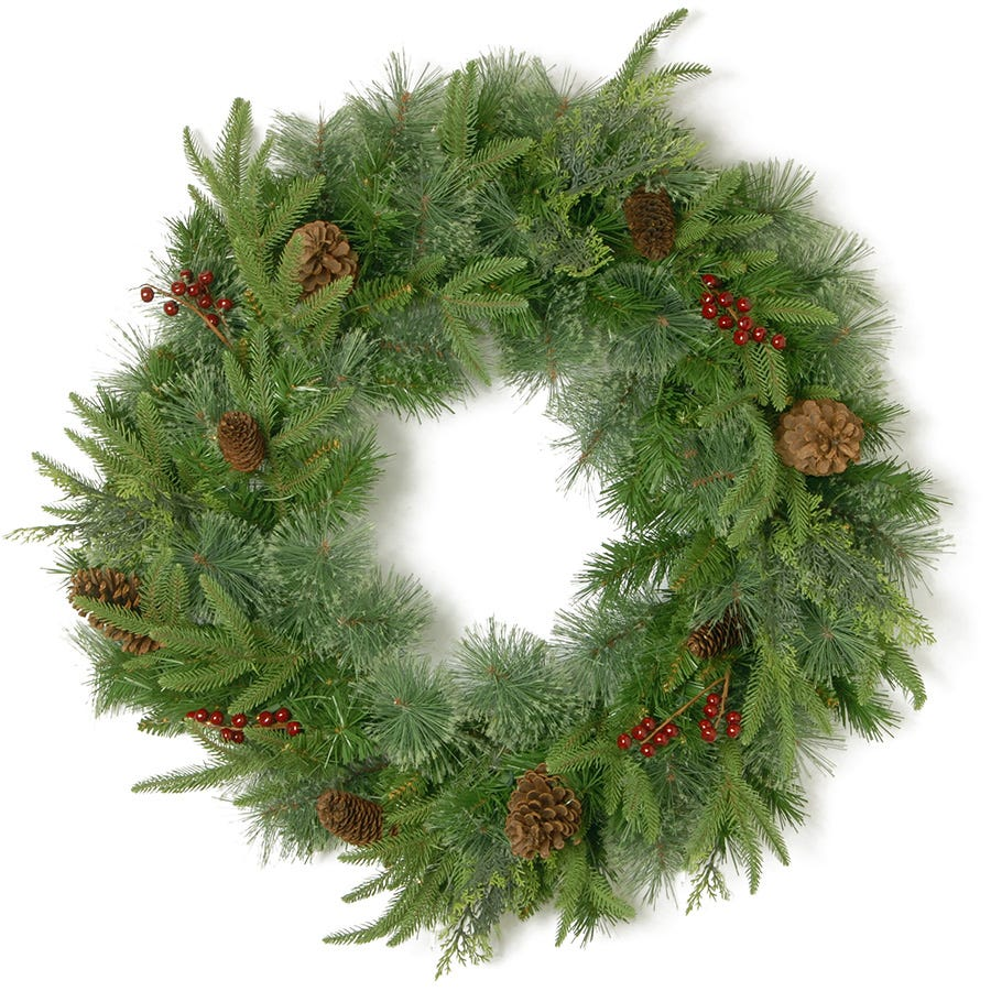 Compare prices for National Tree Company Colonial Fir Wreath