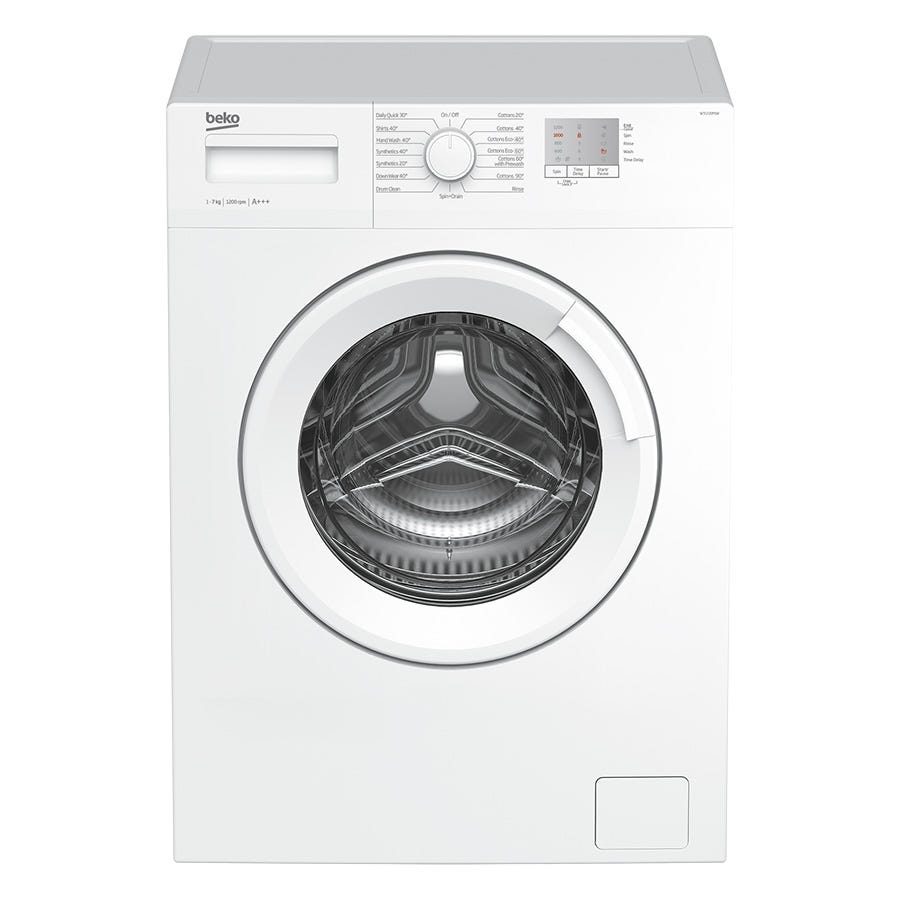 Compare prices for Beko WTG720M1W 7kg 1200rpm Washing Machine - White